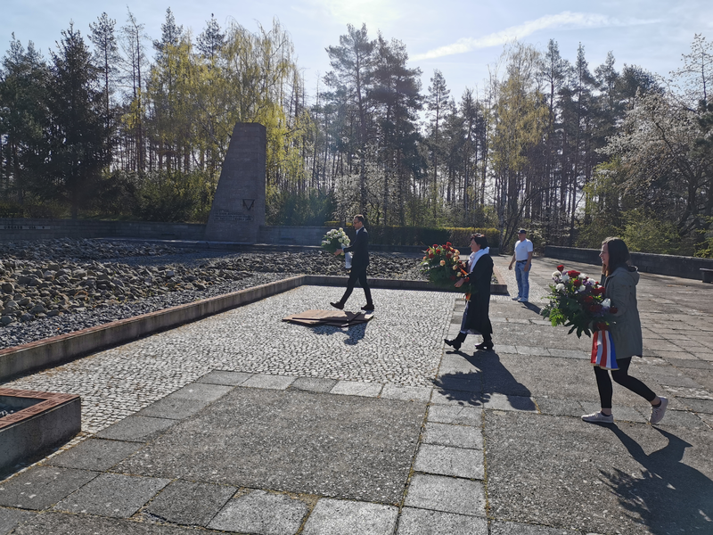 Commemoration of the 75th Anniversary of the liberation of the camp
